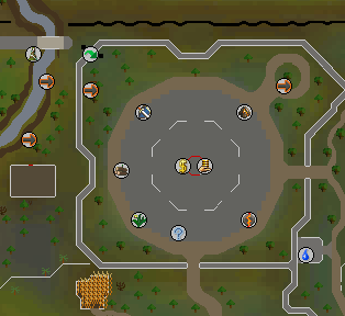 GE map old