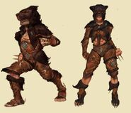 Lion outfit concept art