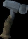 Off-hand bathus warhammer detail