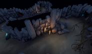 Sliske's lair caves