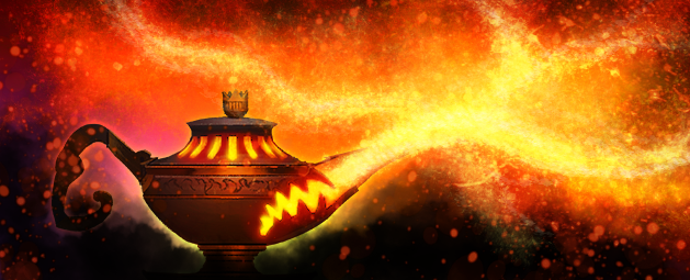 Smouldering Lamps Return update post header