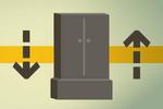 Teak drawers (flatpack) detail