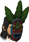 Witchdoctor mask chathead