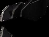 Black gauntlets