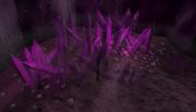 Crystal outcrop