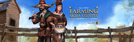 Farming Skill Outfit head banner