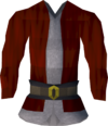 Santa costume top detail (male)
