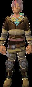 Seren's symbol equipped