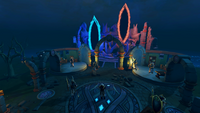 Shattered Worlds hub