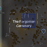 Spirit Realm portal (Forgotten Cemetery) location