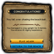 Beach Ball Rolling win interface