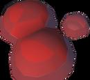 Crystalised zombie blood