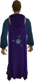 Divination cape equipped