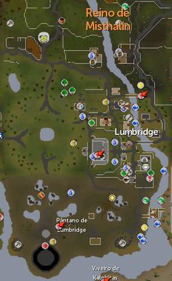 Lumbrigde mapa