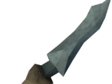 Off-hand kratonite dagger