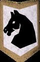 Rune kiteshield (Horse) detail