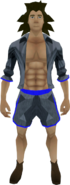 Summer fun outfit equipped (male)