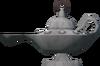 Vetal lamp detail