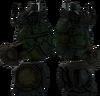 Attacker's flamethrower detail