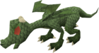 Baby dragon (green) pet old
