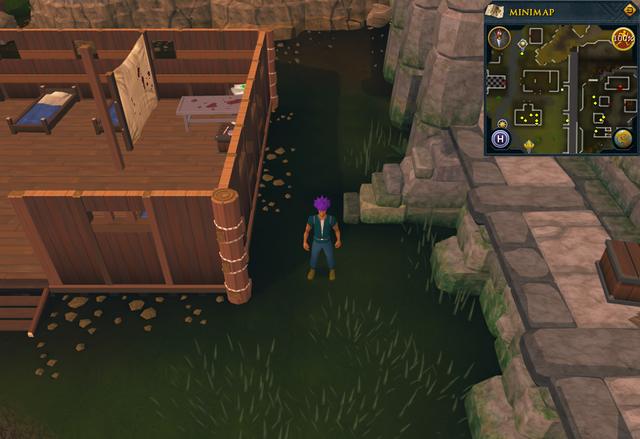 File:Compass clue Burthorpe east of the building next to Heroes' Guild.png