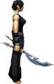 Crescent Blade Offhand equipped.png