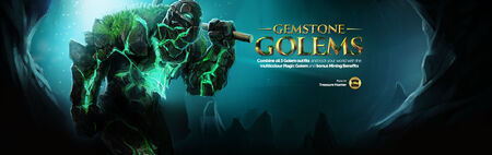 Gemstone Golems head banner