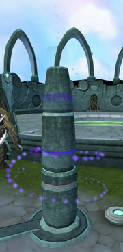 Incandescent memories (pillar)