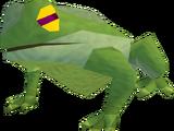 Plague frog