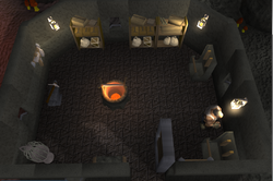 Reinald's Smithing Emporium interior