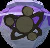 Strong divination urn (r) detail
