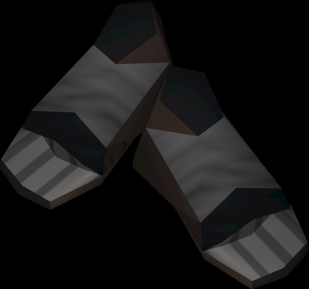 Unhallowed boots detail