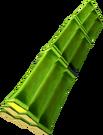 Bundle of bamboo detail