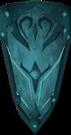 Escudo ogival rúnico detalhe