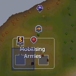 Goblin recruiter location