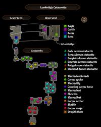 Lumbridge Catacombs map