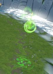 Solak green spore bomb