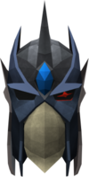 Full slayer helmet (blue) detail