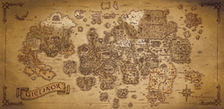 Gielinor map poster