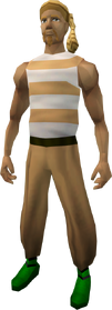 Pirate clothing (orange) equipped
