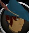 Robin Hood hat (blue) chathead