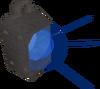 Sapphire lantern (lit) detail