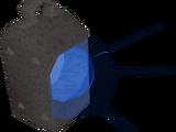 Sapphire lantern (lit)