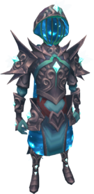 Starfury armour (melee) equipped
