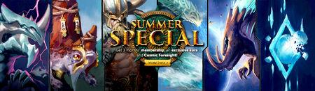 Summer Special head banner