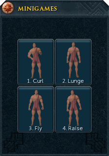 Body building interface