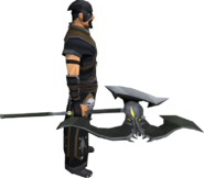 Executioner axe equipped