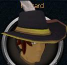 Gilded cavalier chathead