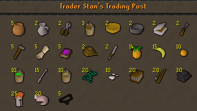 Trader Stans Trading post