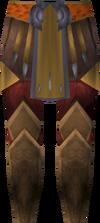 Warpriest of Armadyl greaves detail